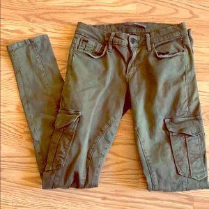 JOE'S  JEANS cargo skinny jeans.